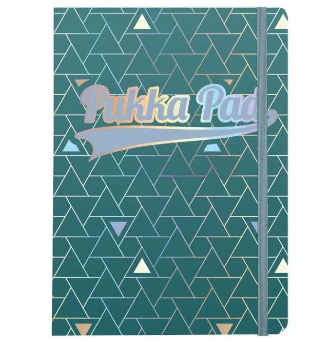 Ruled Pukka Glee Journal Green PK3