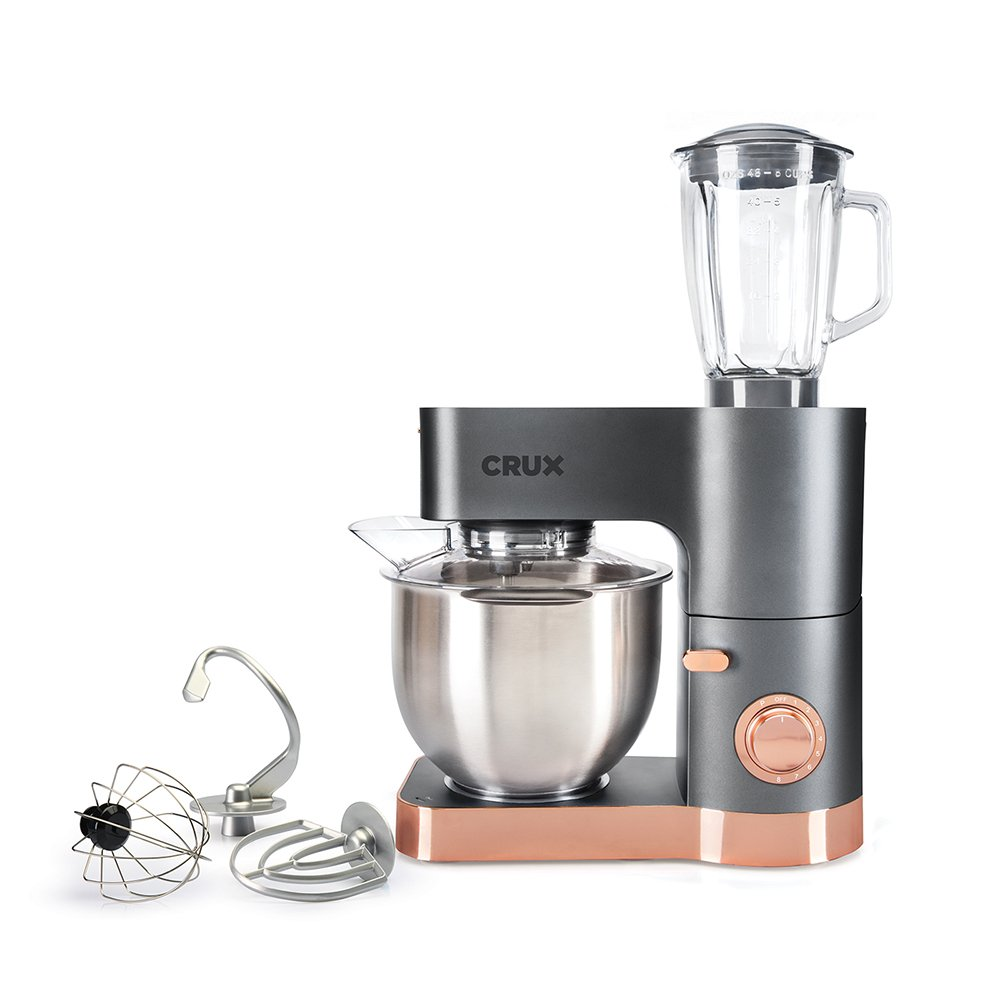 1200W Power Stand Mixer with Blender Jug