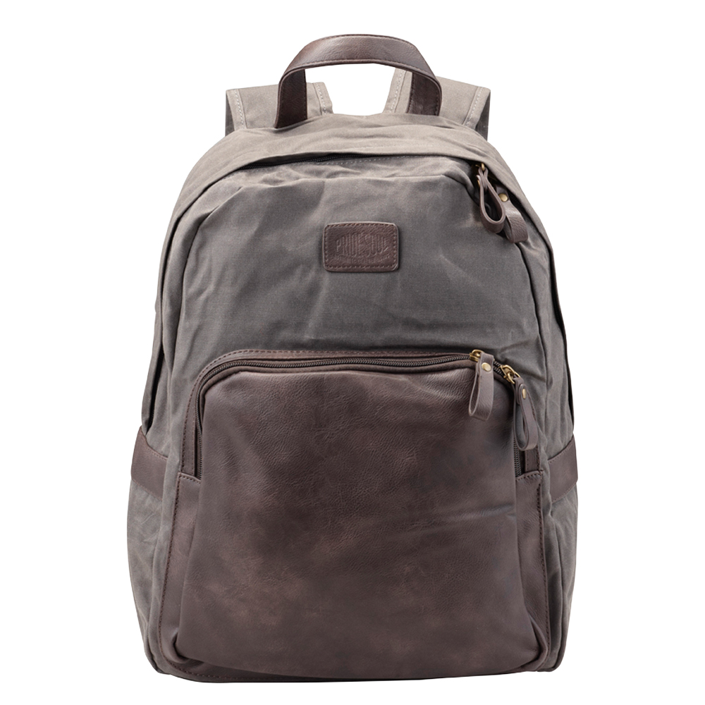 Bags & Cases Pride and Soul Sensation Laptop Bag for Laptops up to 15 inch Grey/Brown