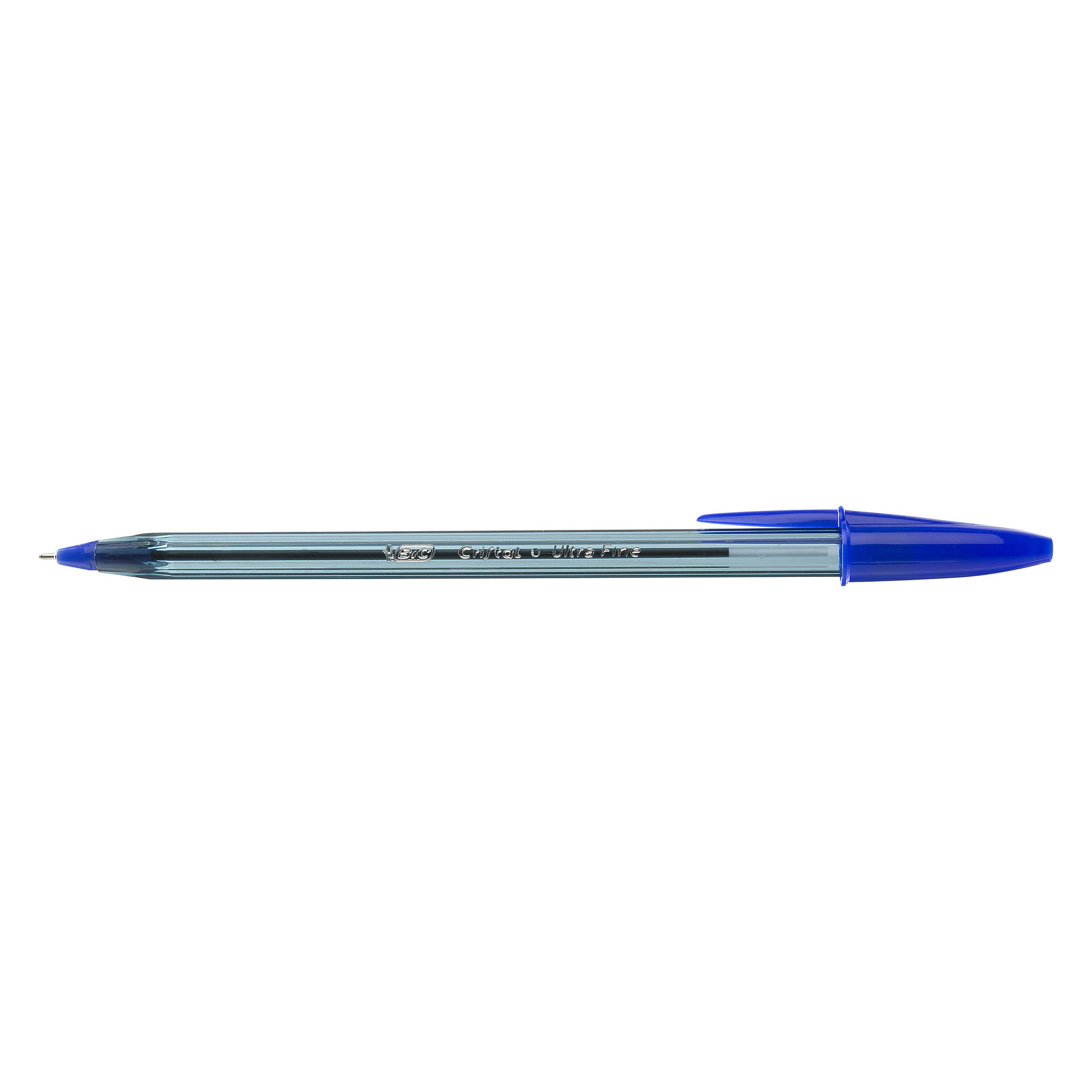 Ball Point Pens Bic Cristal Exact Ballpoint Pen Blue (Pack 20)