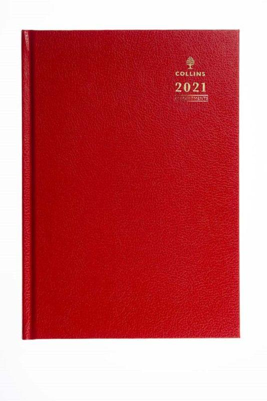 Collins A36 Quarto Week To View Appointments 2021 Diary BK