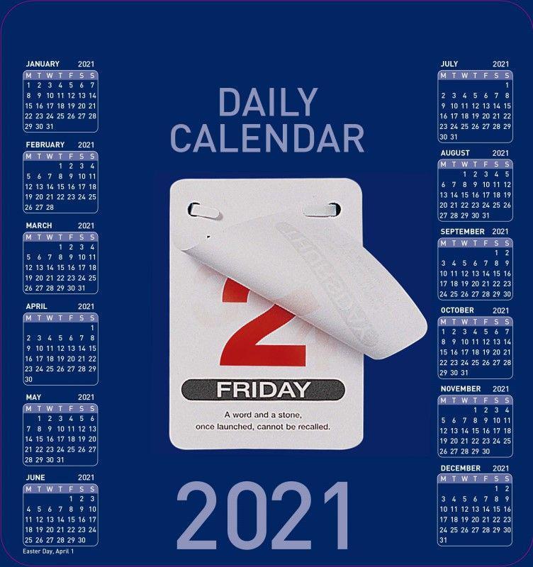 Calendars Collins Colplan CDBC 2021 Daily Block Calendar
