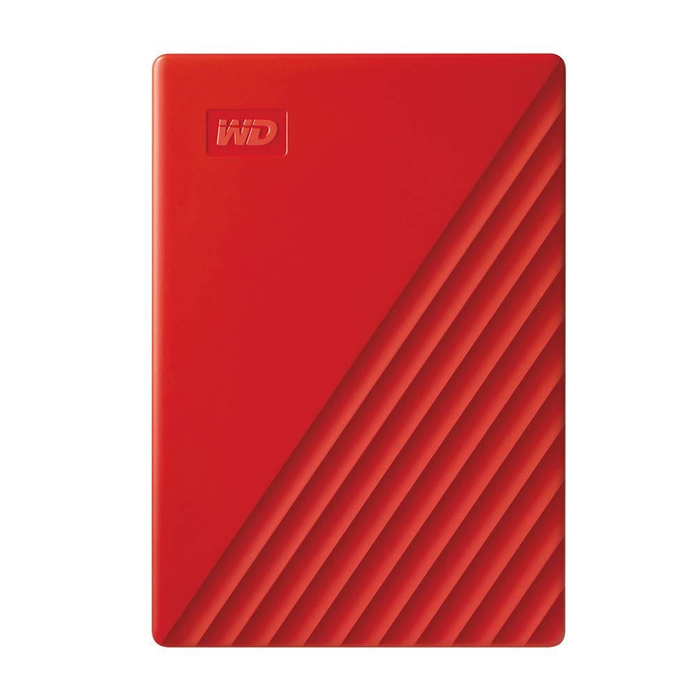 Hard Drives WD 4TB My Passport USB 3.0 Red Ext HDD