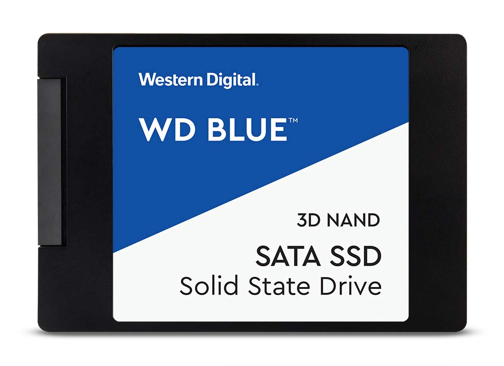 WD 4TB Blue SATA 2.5in 3D NAND Int SSD