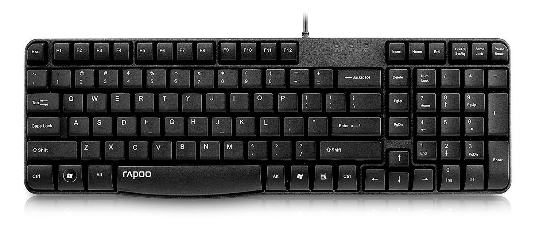 Rapoo N2400 Wired USB Black Keyboard