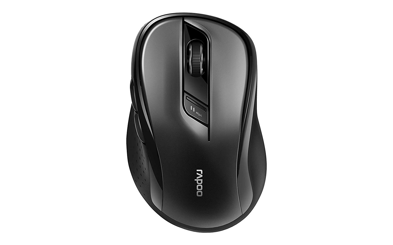 Rapoo M500 1600 DPI Black Wireless Mouse