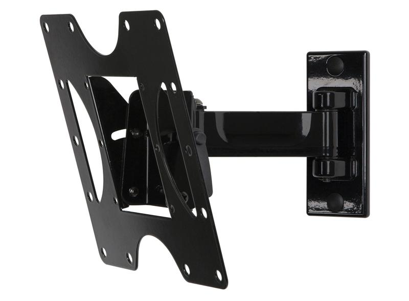 Risers / Stands 22in to 40in Universal Pivot Wall Mount