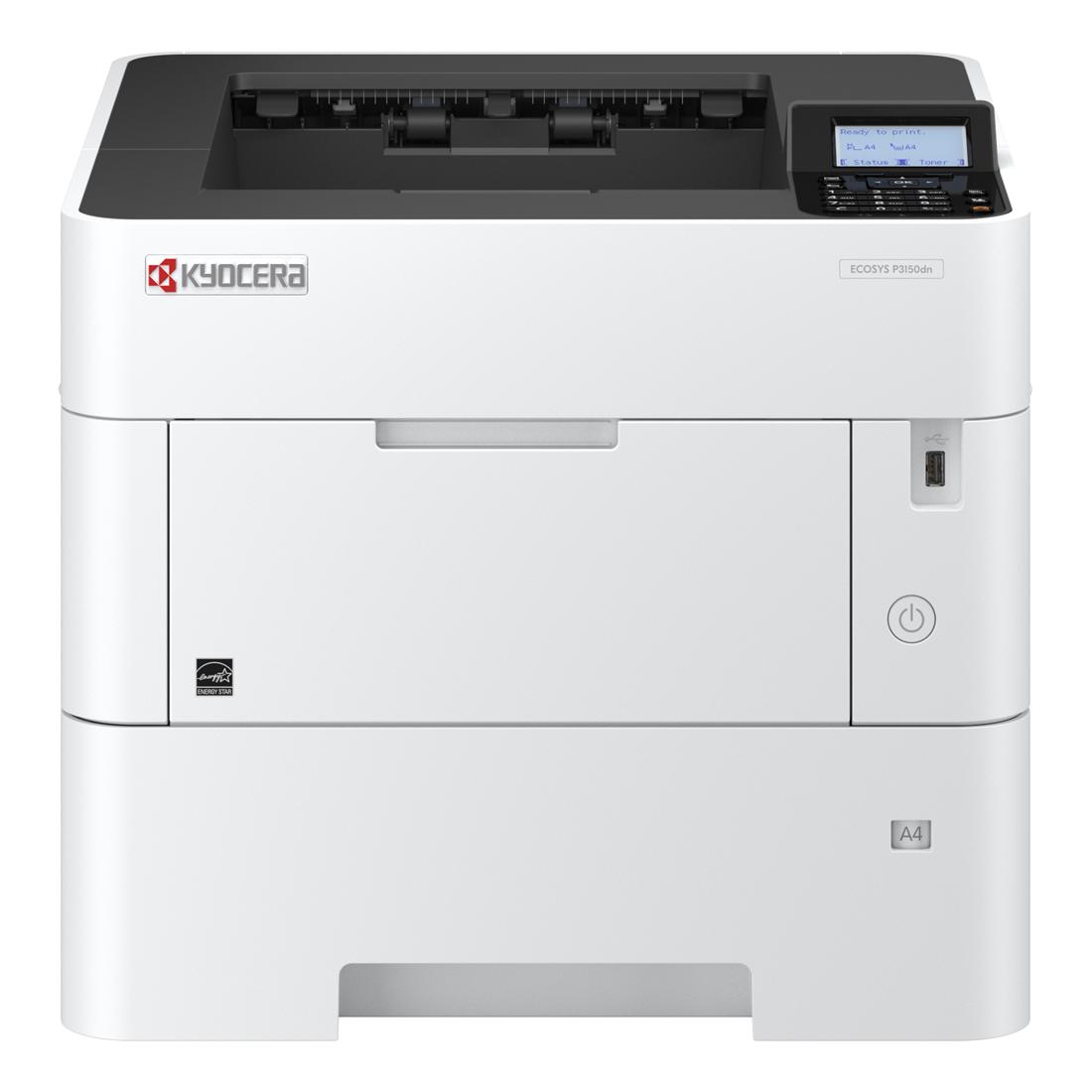Laser Printers KYOCERA ECOSYS P3150DN Laser Printer
