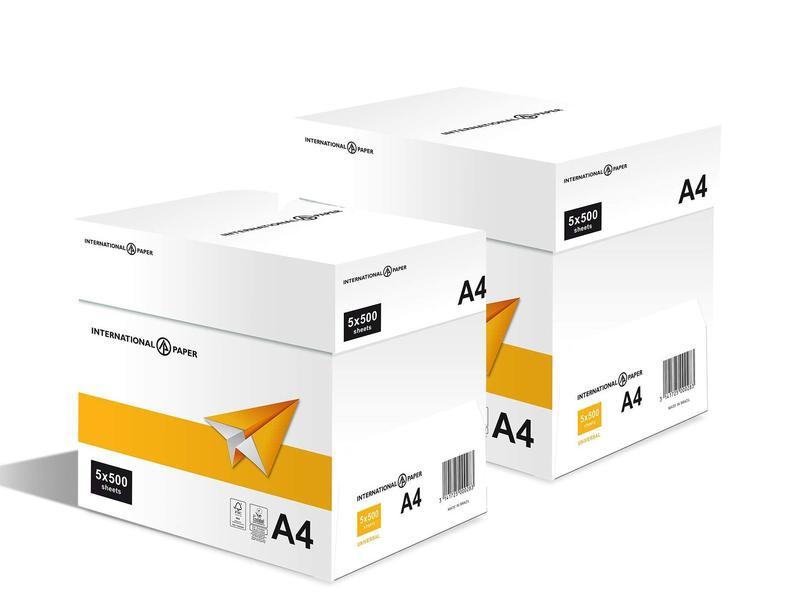IP Universal Paper A4 75gsm White (Box 10 Reams)