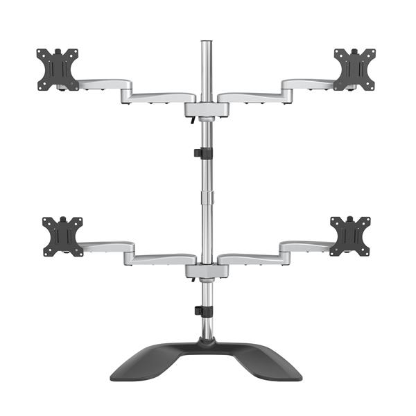 Up to 32 Inch Quad Monitor Stand