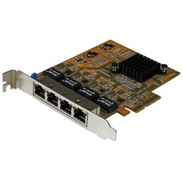 Internal Computer Expansion 4 Port PCIe Gigabit Network Adapter Card