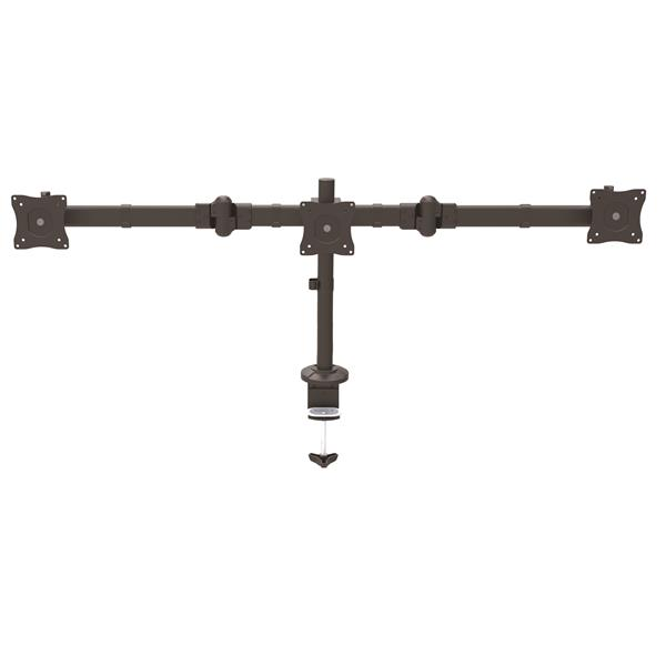 Up to 24in Triple Monitor Arm Desk Mount