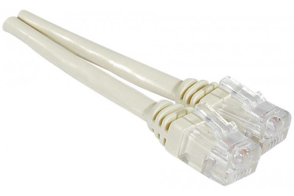 Cables / Leads / Plugs / Fuses 15m RJ11 ADSL2Plus Ivory Telephone Lead