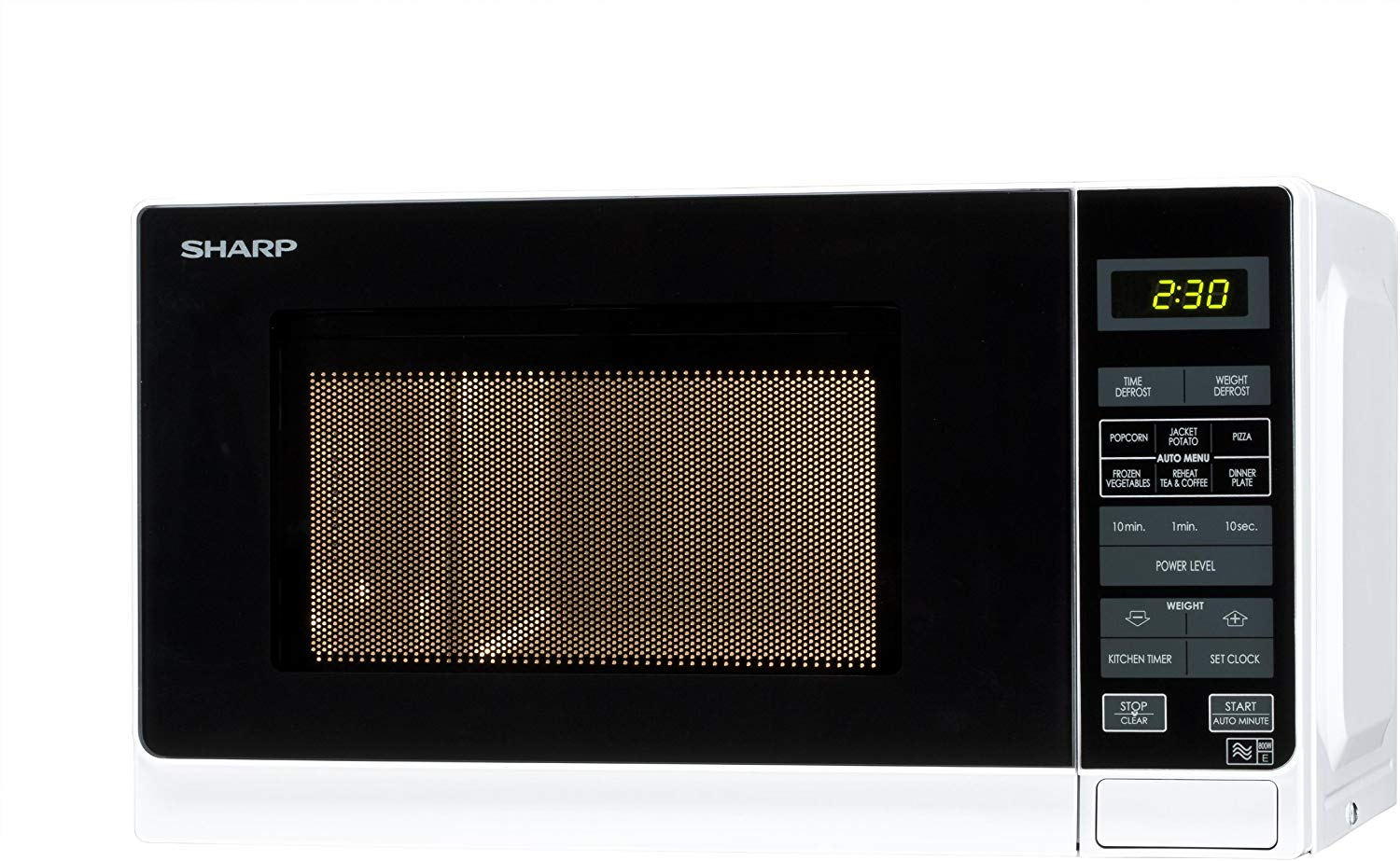 Sharp R272WM Microwave Black White 800W