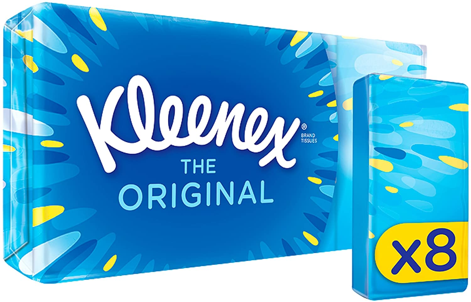 Facial Tissues Kleenex Original Pocket Pack 8s (PK18)