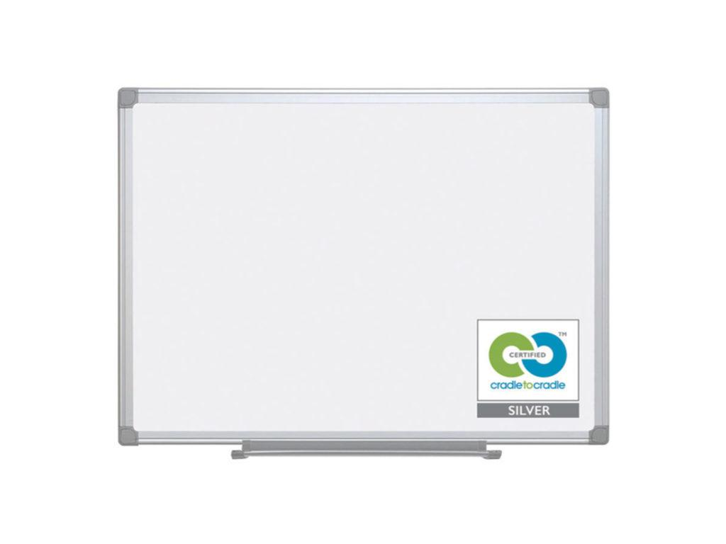 Earth Magnetic Steel 900x600mm Aluminium Frame