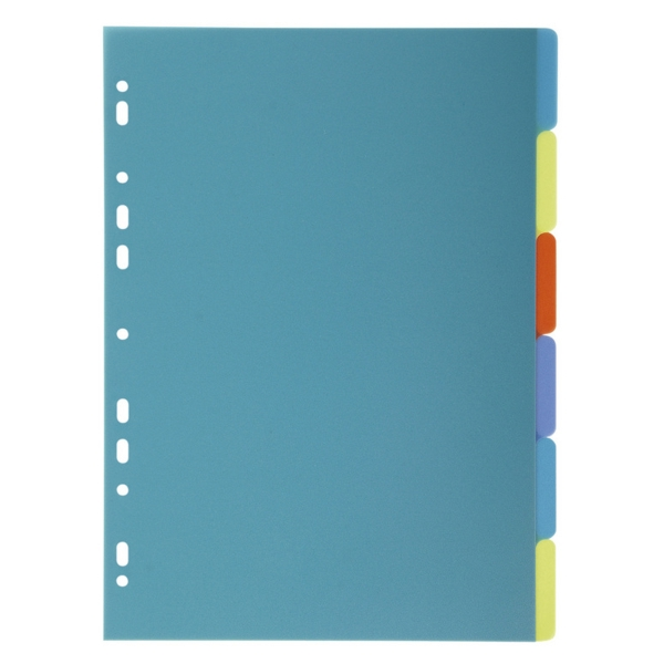 Forever PP A4 Dividers 6 Part