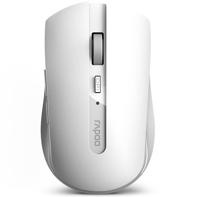 Wireless 7200M RF White Wireless 1600 DPI Mouse