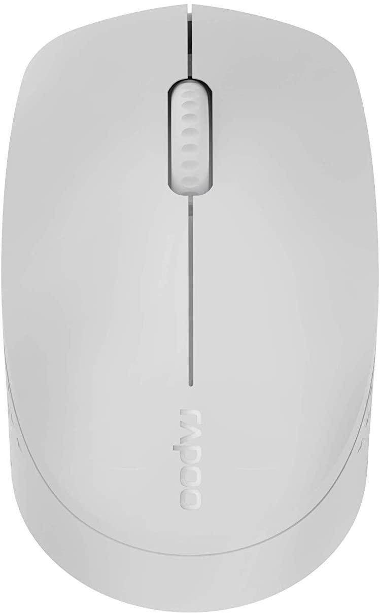 M100 Wireless 1300 DPI Light Grey Mouse