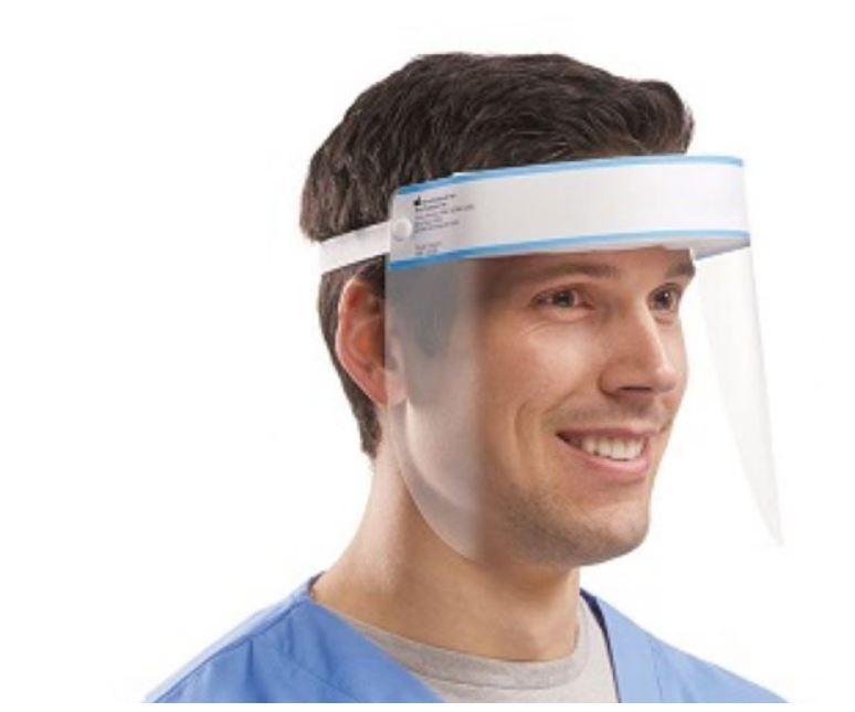 Eye / Face Protection Stop Virus Reusable Face Shield PK1