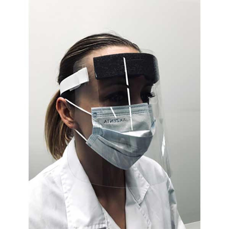 Exacompta ExaScreen Individual Protective Face Visor (Pack 10)