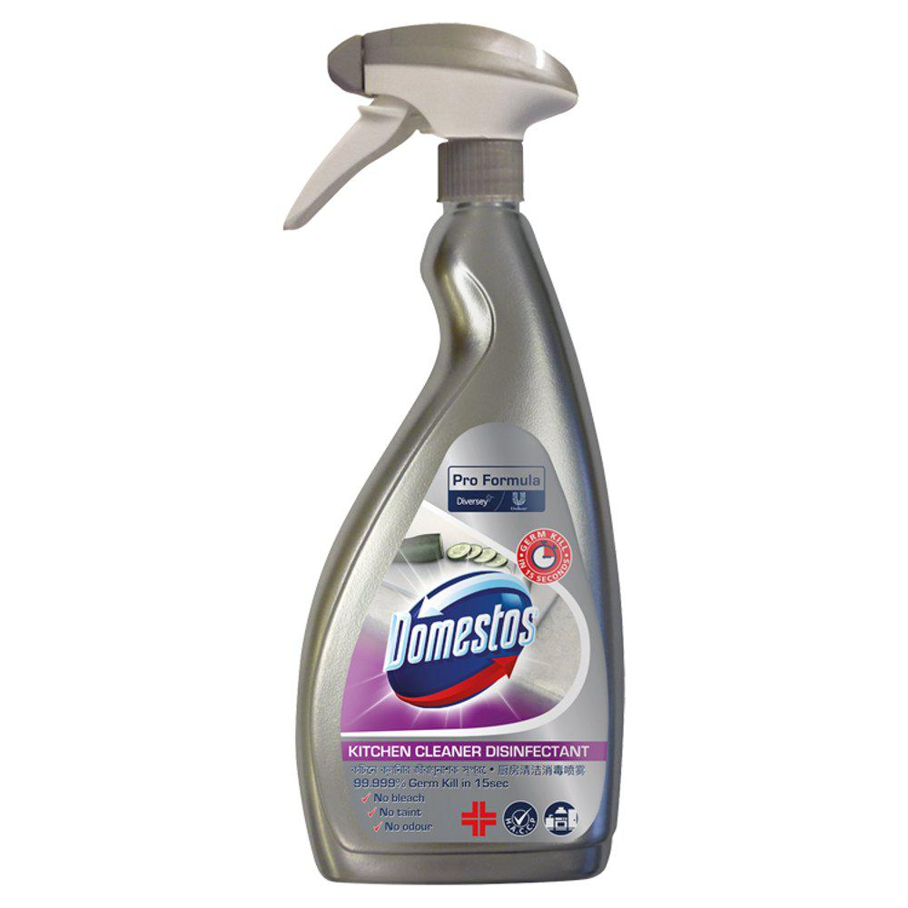 Cleaning Chemicals Domestos Kit Disinfectant 750ml PK6