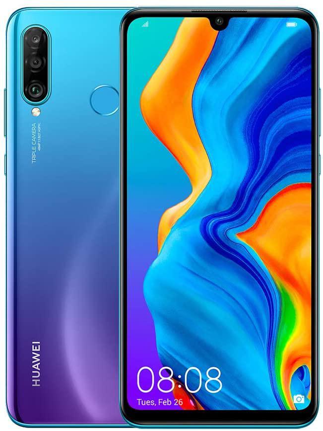 Mobile Phones Huawei P30 Lite 256GB Blue Mobile Phone