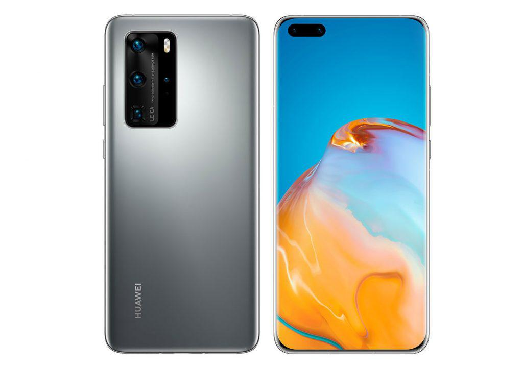 Mobile Phones Huawei P40 Pro 5G 256GB Silver Frost