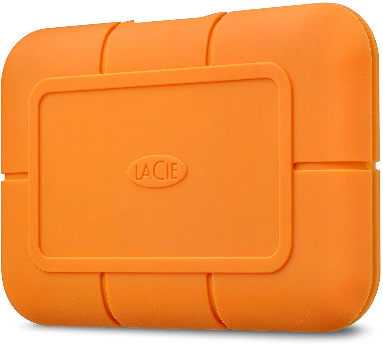 Hard Drives 2TB Rugged USBC Orange Exernal SSD