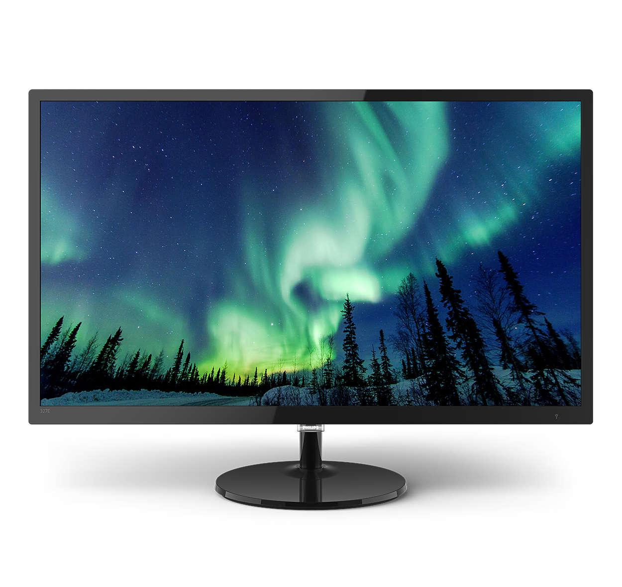 Monitors 327E8QJAB 31.5in IPS FHD MM LCD Monitor