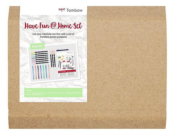 Tombow Have Fun At Home Pastel Set