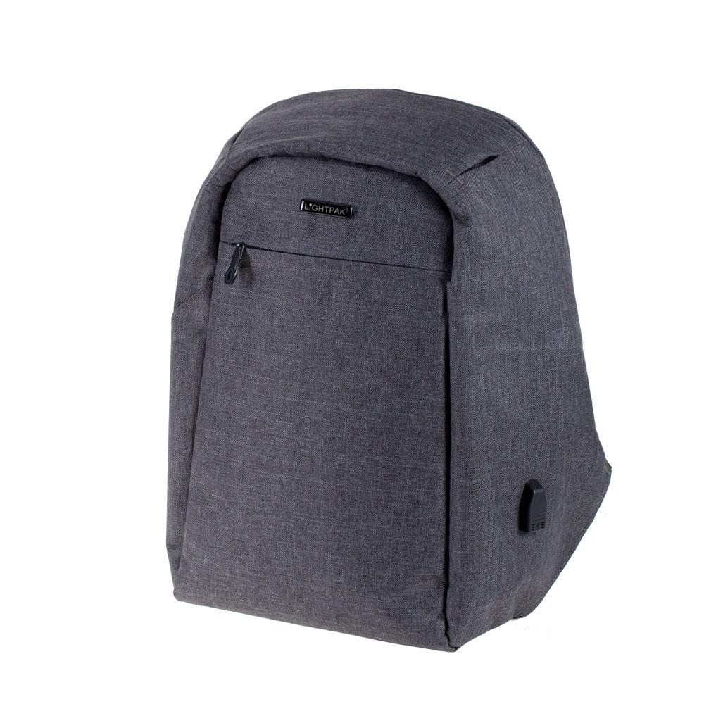 Bags & Cases Lightpak Safepak Backpack for Laptops up to 15 inch Black