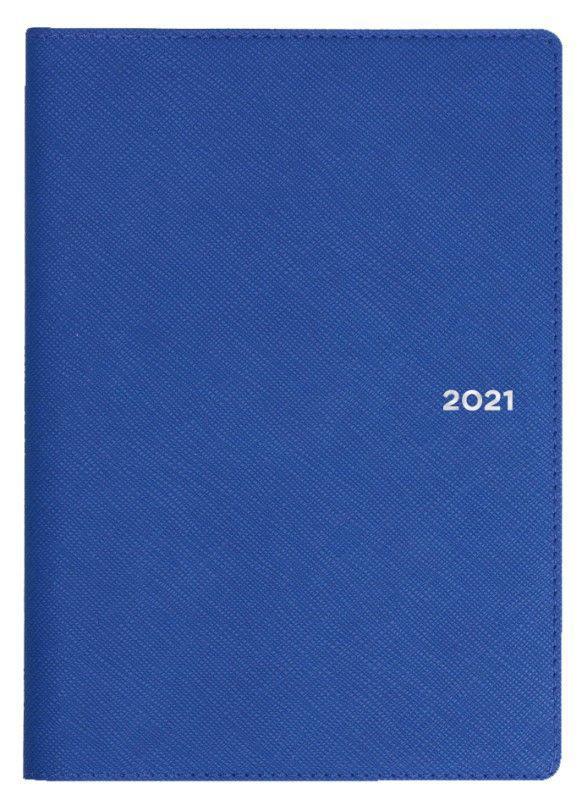Collins Melbourne B6 Week to View 2021 Diary Indigo