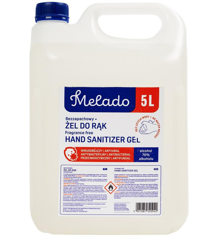 Cleaning Chemicals Purely Protect Hand Sanitiser 5 Litres (Pack 10)