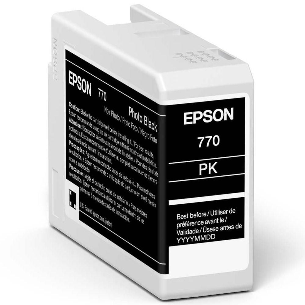 Inkjet Cartridges Epson Photo Black T46S1 Pro10 Ink Cartridge 25Ml
