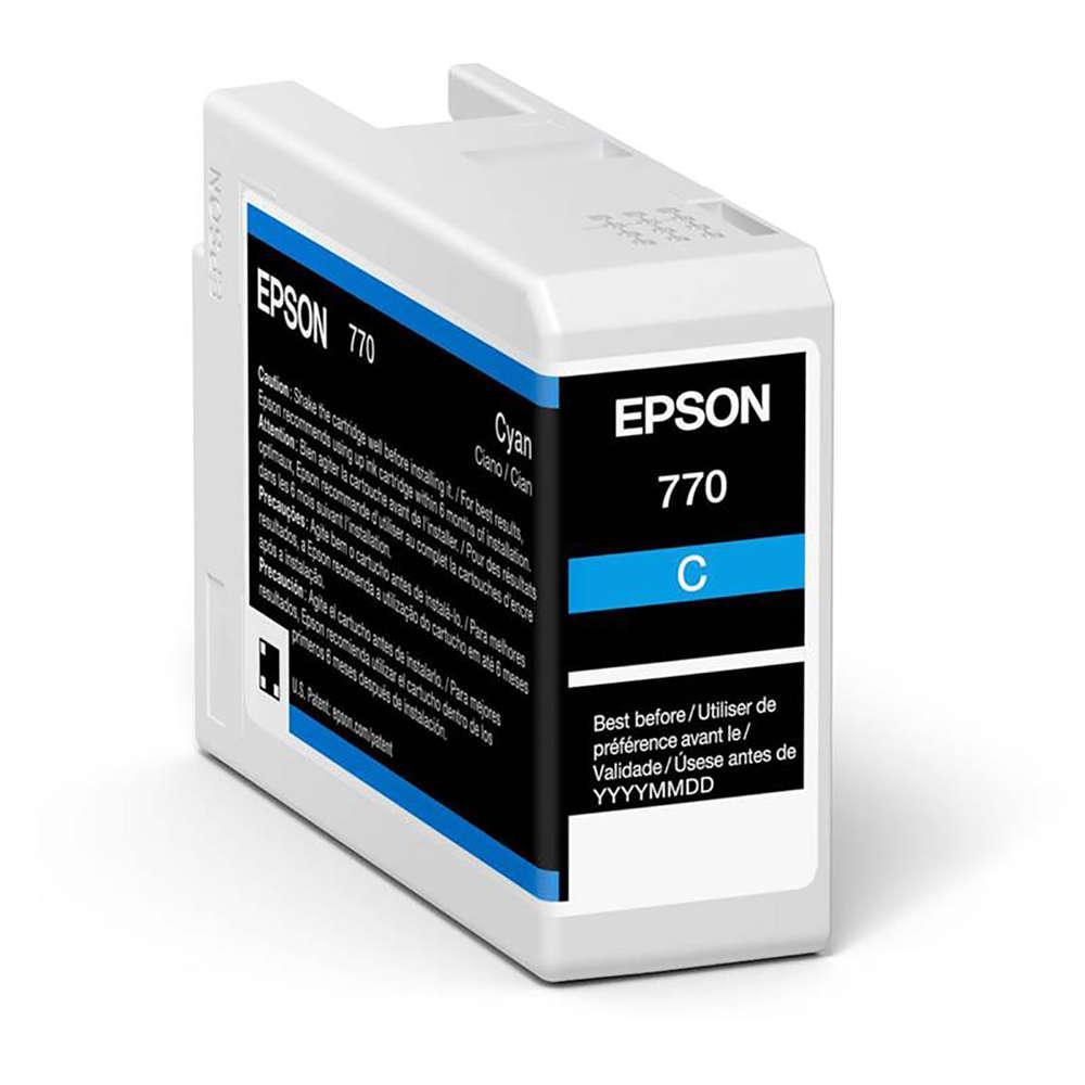 Inkjet Cartridges Epson Cyan T46S2 Pro10 Ink Cartridge 25Ml