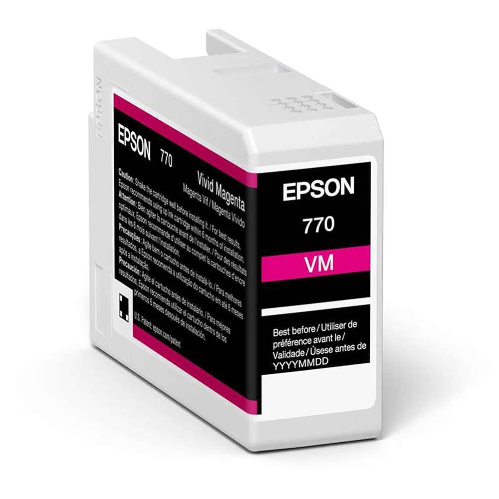 Inkjet Cartridges Epson Vivid Mage T46S3 Pro10 Ink Cartridge 25Ml