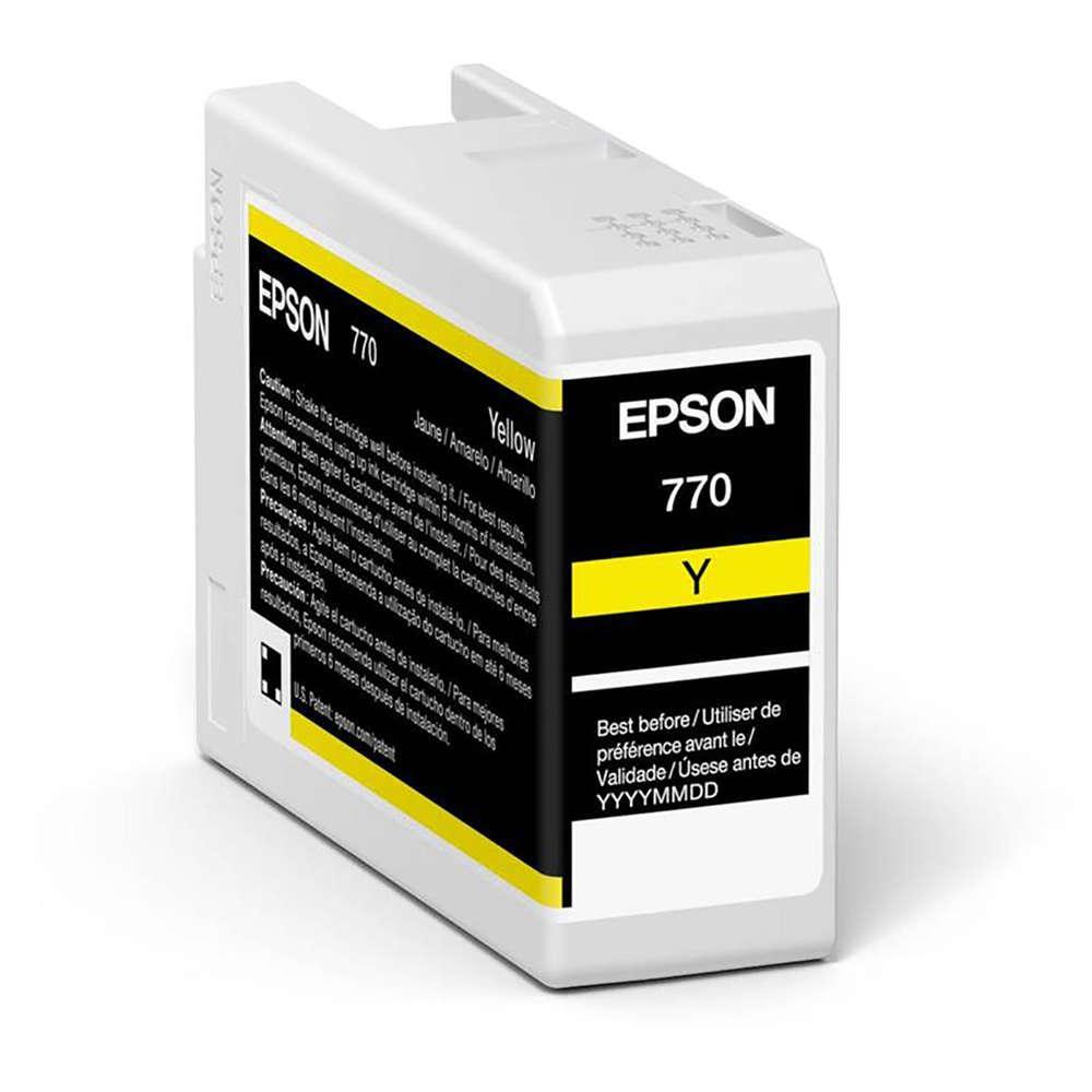 Inkjet Cartridges Epson Yellow T46S4 Pro10 Ink Cartridge 25Ml
