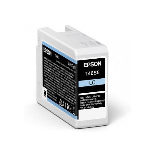 Inkjet Cartridges Epson Light Cya T46S5 Pro10 Ink Car 25Ml