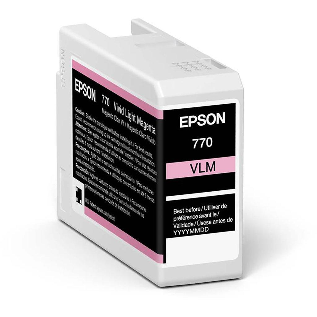 Inkjet Cartridges Epson Vivid Light Magenta T46S6 Pro10 Ink Cartridge 25Ml