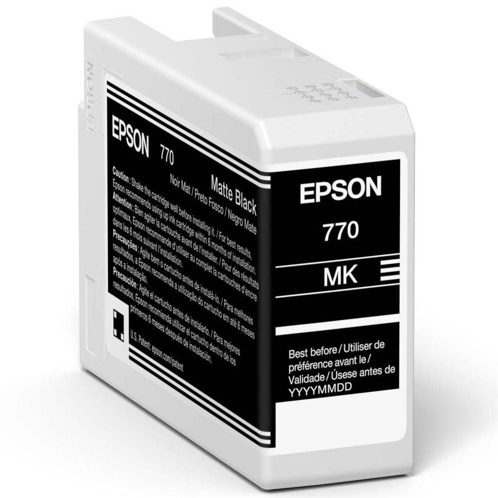 Inkjet Cartridges Epson Matte Black T46S8 Pro10 Ink Cartridge 25Ml