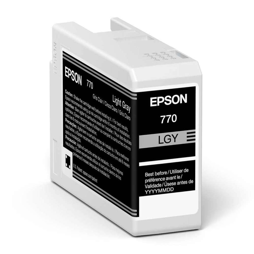 Inkjet Cartridges Epson Light Grey T46S9 Pro10 Ink Cartridge 25Ml