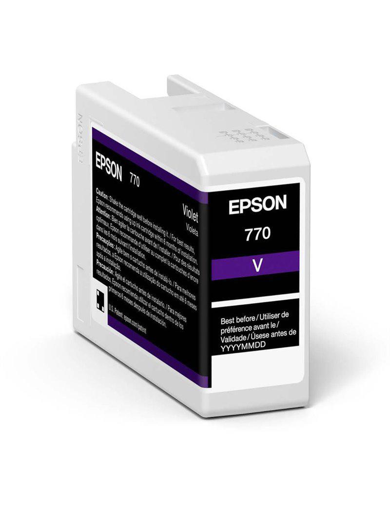 Inkjet Cartridges Epson Violet T46Sd Pro10 Ink Cartridge 25Ml