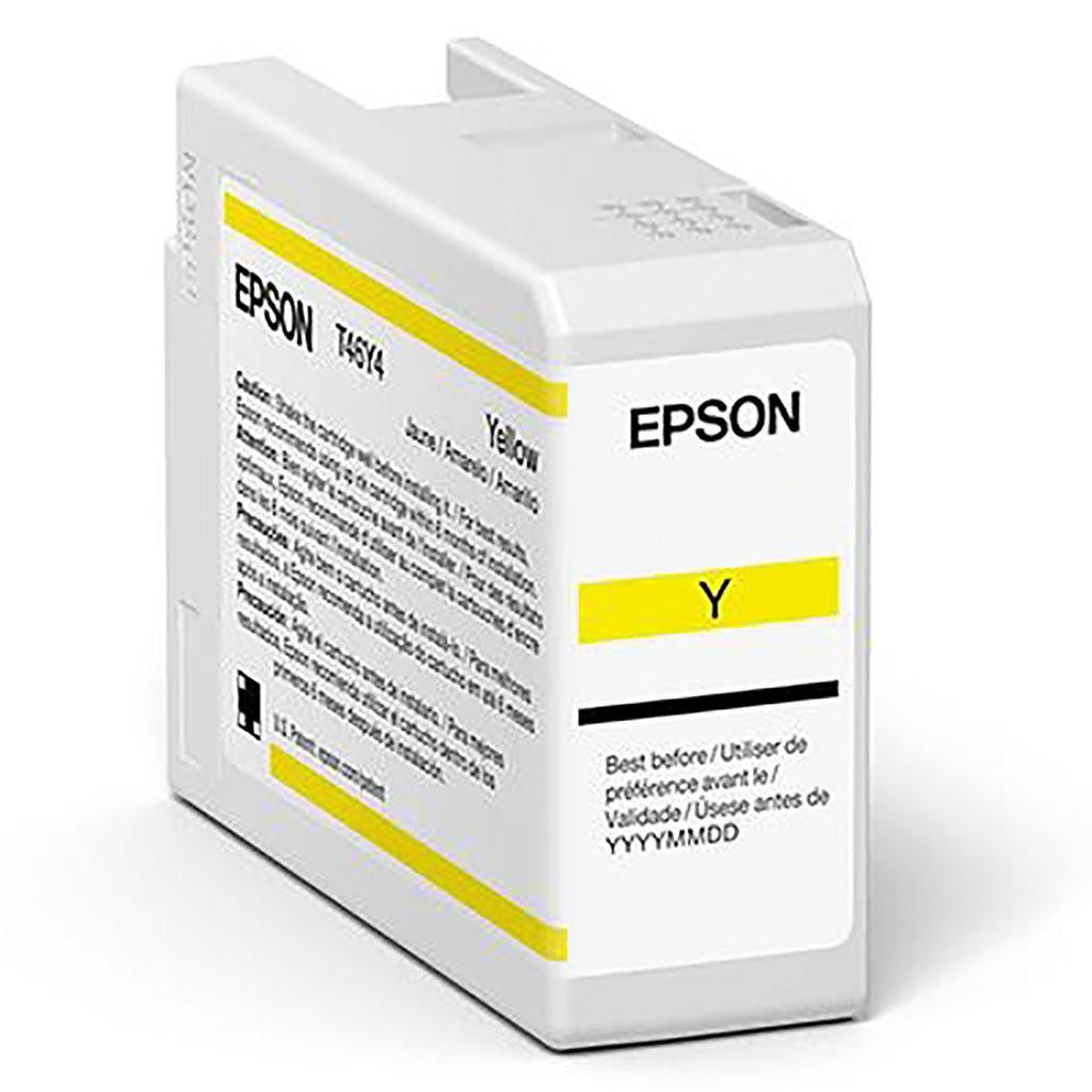 Inkjet Cartridges Epson Yellow T47A4 Pro10 Ink Cartridge 50Ml