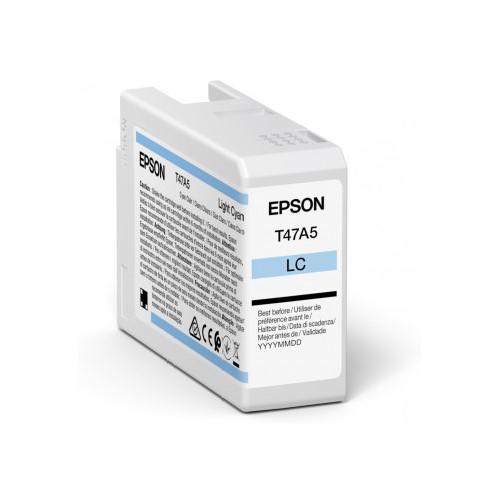 Inkjet Cartridges Epson Light Cyan T47A5 Pro10 Ink Cartridge 50Ml