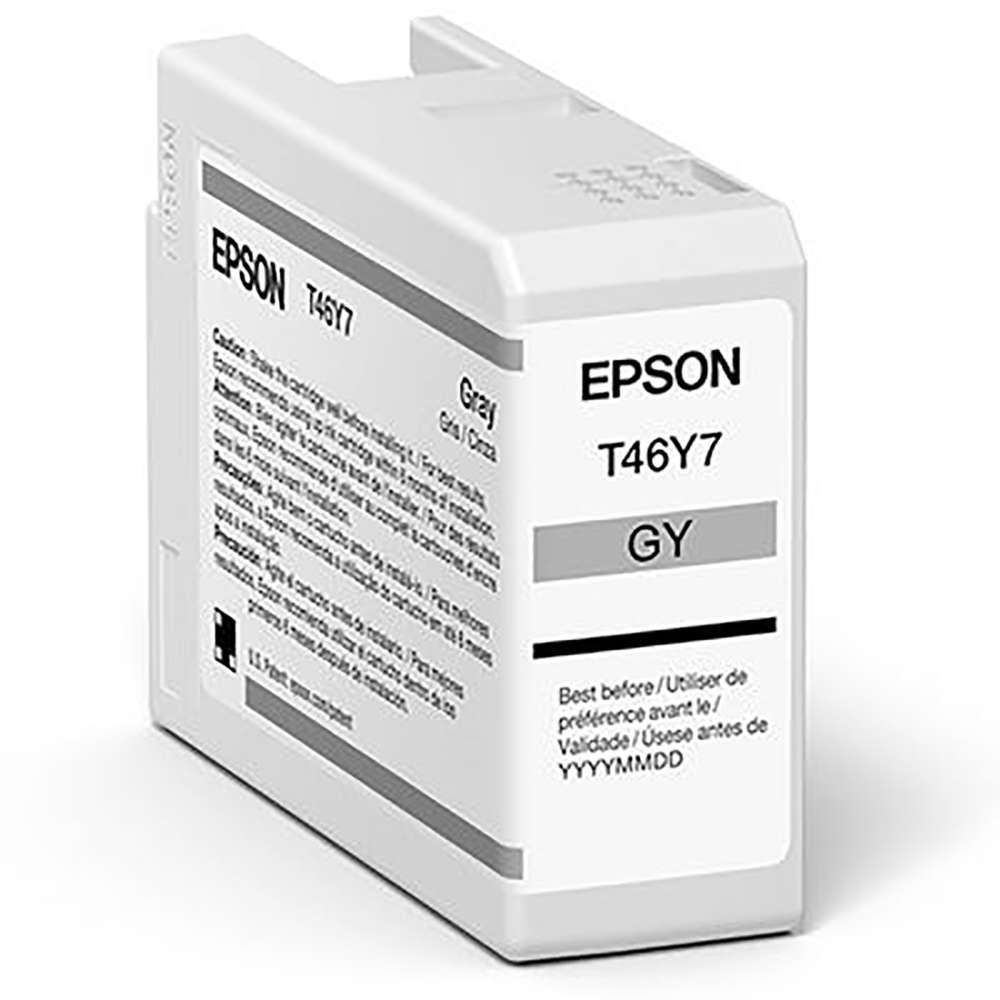 Inkjet Cartridges Epson Grey T47A7 Pro10 Ink Cartridge 50Ml
