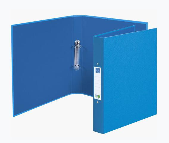 Ring Binders Exacompta CleanSafe Ring Binder Card with Anti-Microbial Paper 2 O-Ring 30mm Rings Blue (Pack 10)
