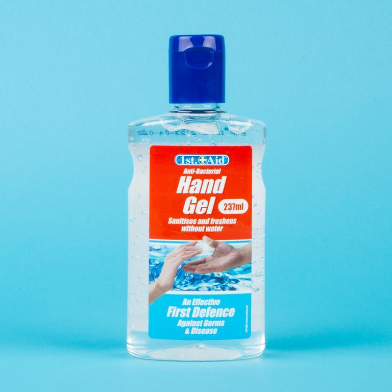 1st Aid Hand Sanitiser Flip Top Bottle 237ml (Pack 24)