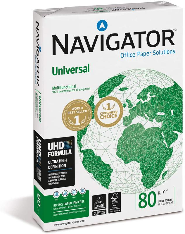 A4 Navigator Universal Paper 80gsm A4 BX10 reams