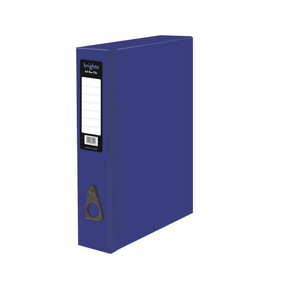 Box Files Pukka Brights Box File Foolscap Blue Box of 10
